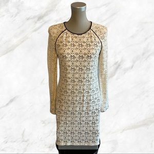 W118 by Walter Baker | Cream Lace Covered Dress